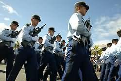 defile gendarmerie